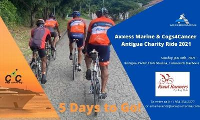 FIVE DAY COUNTDOWN – THE AXXESS MARINE & COGS 4 CANCER CHARITY RIDE!