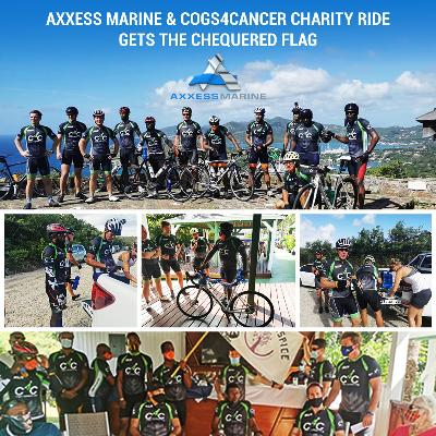 Axxess Marine & Cogs4Cancer Charity Ride Gets the Chequered Flag